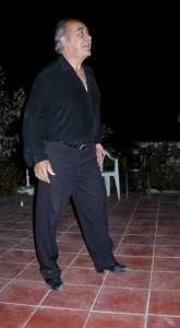 """Tango kurs, """"Ritmo! Ritmo! Ritmo!"""", ganz offensichtlich Eduardo Aquirres Lieblingswort in jedem Tangokurs"""