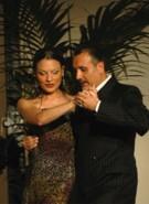 Tango mit Ricky Barrios und Laura Melo, beim Tangokurs in La Rogaia