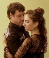 Fabiàn Salas und Lola Díaz, Intensiv Tango Workshop, Villa La Rogaia, Juni 2012, Tangokurs
