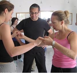 Tangoreisen La Rogaia Osterferien 2013, Tango tanzen lernen und entspannen im Tangokurs mit Brigitta Winkler
