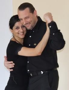 Andres und Mira geben regelmäßig Tangokurse in La Rogaia. Jetzt könnt Ihr sie im Fernsehen sehen.