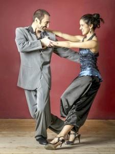Tangokurs mit Filippo und Candela, Ostern 2015. Die pure Freude am Tango tanzen